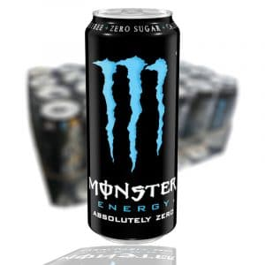 MONSTER ABSOLUTELY ZERO 50 CL (BLÅ) - 24