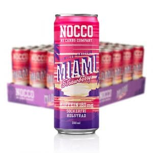 NOCCO MIAMI STRAWBERRY 24-PACK 33 CL