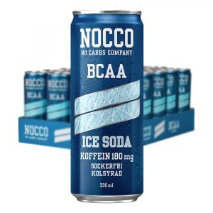 Nocco Ice Soda - 24-pack