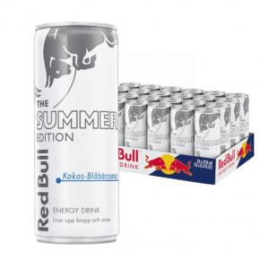Red Bull White Ed. Kokos/Blåbär 25cl x 24st