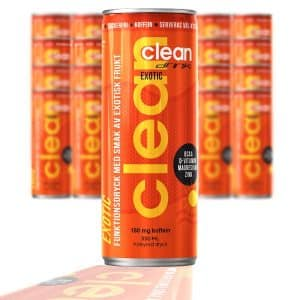 CLEAN DRINK EXOTIC 24 x 33CL