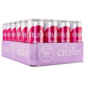 Celsius Hallon/Acai kolsyrad 24-pack