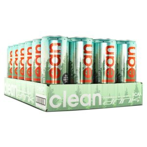 Clean Drink Lingon BCAA 33cl - 24-pack