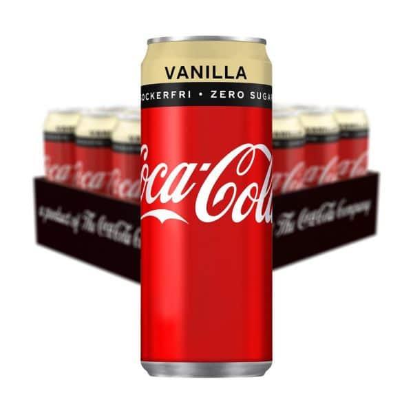 Coca Cola Vanilla Zero (33cl) 20-pack