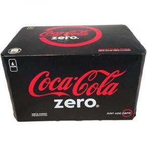 Coca-Cola Zero 6-pack - 37% rabatt