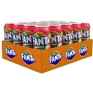 Fanta Strawberry & Kiwi 33cl x 20st