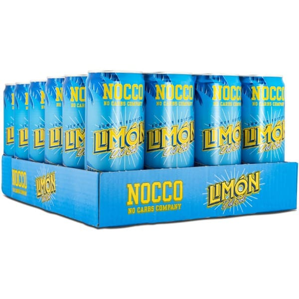 NOCCO BCAA Limón Del Sol Summer Limited, Koffein 24-pack
