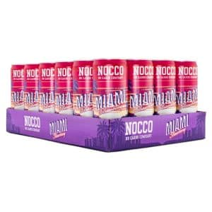 NOCCO BCAA Miami Summer Limited, Koffein 24-pack