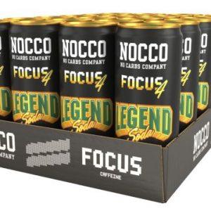 NOCCO Focus 330ml Legend Soda 24-pack