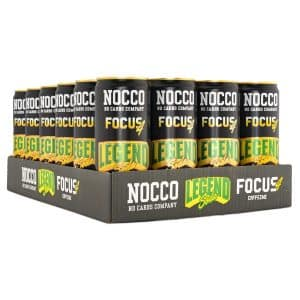 NOCCO Focus 4 Legend Soda 24-pack