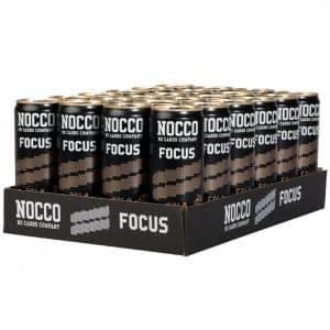 NOCCO Focus Cola 330ml - 24-pack