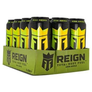 REIGN Total Body Fuel Sour Apple 12-pack