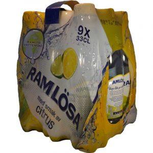 Ramlösa Citrus 9x33cl - 50% rabatt