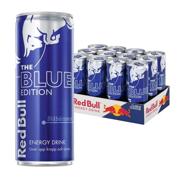 Red Bull Blue 12-pack (25cl)