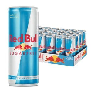 Red Bull Sugar Free 24-pack (25cl)