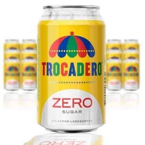 Trocadero Zero Sugar 33cl - 24-pack