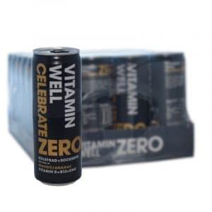 Vitamin Well Zero Celebrate 24-pack - 68% rabatt