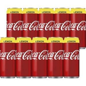 Coca-Cola Lemon 33 cl - 10-pack