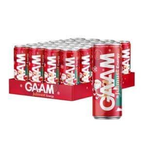 GAAM Energy Julmust 33 cl x 24 st