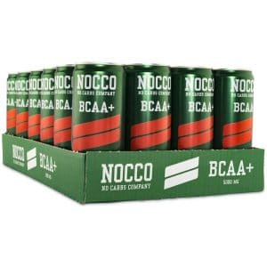NOCCO BCAA Hallon/Citron, Koffeinfri 24-pack