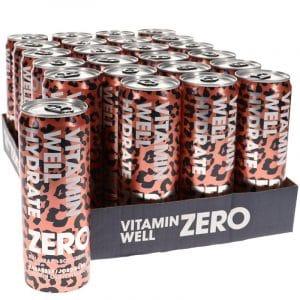 Vitamin Well Zero Hydrate 24-pack - 50% rabatt