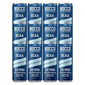 12 X Nocco Bcaa / Bcaa+, 330 Ml