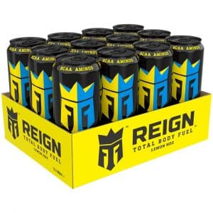 12 X Reign Total Body Fuel, 500 Ml, Lemon Hdz