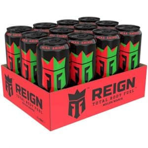 12 X Reign Total Body Fuel, 500 Ml, Melon Mania