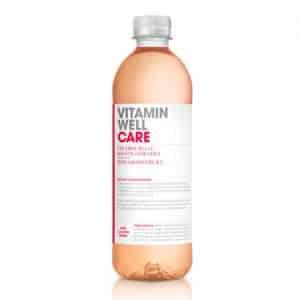 12 X Vitamin Well, 500 Ml, Care Röd Grapefrukt