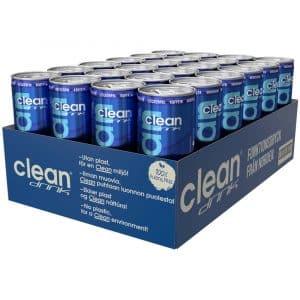 24 X Clean Drink, 330 Ml, Friska Bär