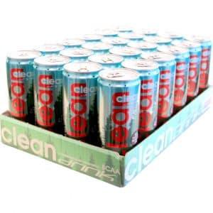 24 X Clean Drink, 330 Ml, Lingon