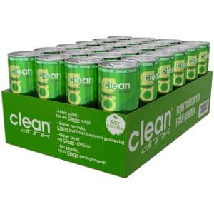 24 X Clean Drink, 330 Ml, Päron