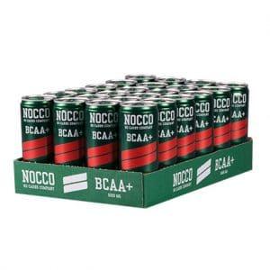 24 X Nocco Bcaa +, 330 Ml, Hallon/citron