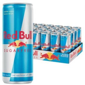 24 X Red Bull Sugarfree, 250 Ml