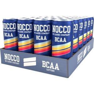 NOCCO BCAA Sunny Soda, Koffein 24-pack