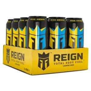 REIGN Total Body Fuel Lemon Hdz 12-pack