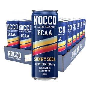 Nocco Sunny Soda - 24-pack