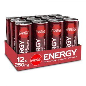 12 X Coca-cola Energy, 250ml, Energy