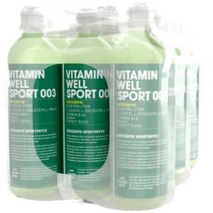 12 X Vitamin Well Sport, 500 Ml, 003 - Forest Rush