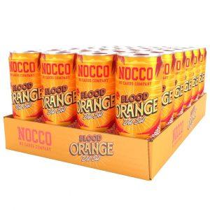 24 X Nocco Bcaa, 330 Ml, Blood Orange Del Sol