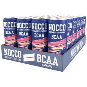 24 X Nocco Bcaa, 330 Ml, Miami Strawberry