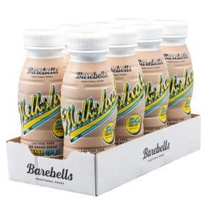 8 X Barebells Milkshake, 330 Ml, Banana Split