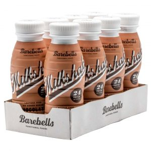 8 X Barebells Milkshake, 330 Ml, Chocolate