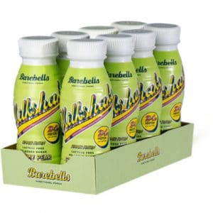 8 X Barebells Milkshake, 330 Ml, Creamy Pear