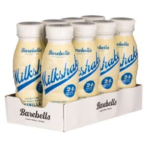 8 X Barebells Milkshake, 330 Ml, Vanilla