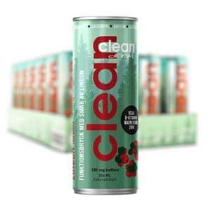 CLEAN DRINK Lingon 33cl x 24 st