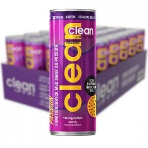 CLEAN DRINK Passion 33 cl x 24 st