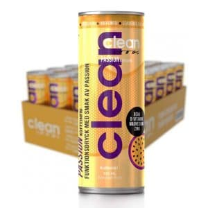 CLEAN DRINK Passion Koffeinfri 33cl x 24
