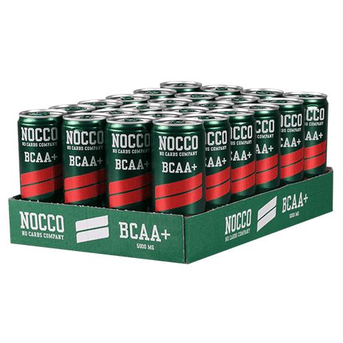 NOCCO BCAA+ 330ml 24-pack - Hallon / Citron