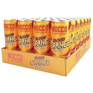 NOCCO BCAA Blood Orange Del Sol, Koffein 24-pack